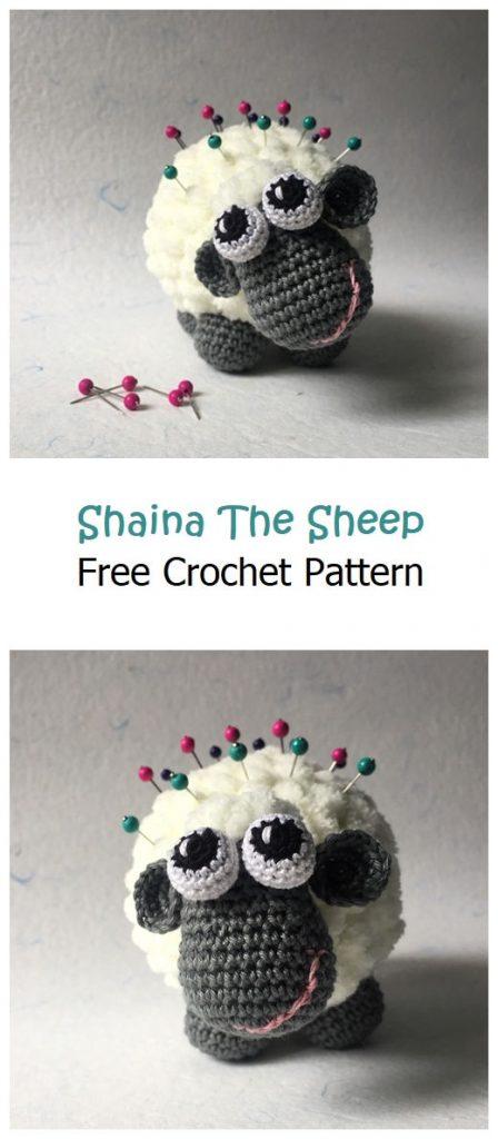 Shaina The Sheep Free Amigurumi Pattern