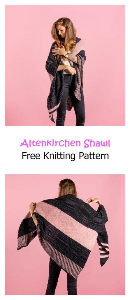Altenkirchen Shawl Free Knitting Pattern