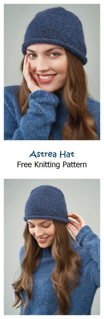 Astrea Hat Free Knitting Pattern