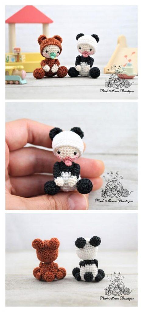 Baby Animals Free Amigurumi Pattern