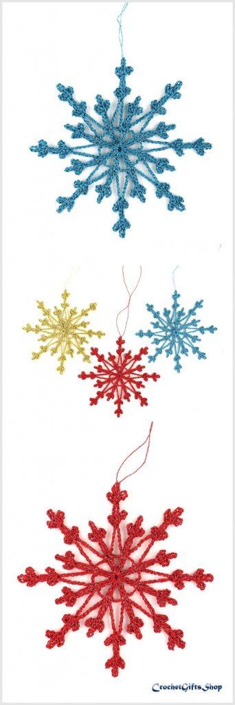 Christmas Snowflake Free Crochet Pattern