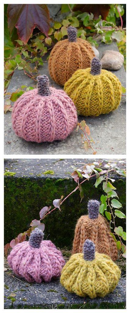 Cinderella's Pumpkins Free Knitting Pattern