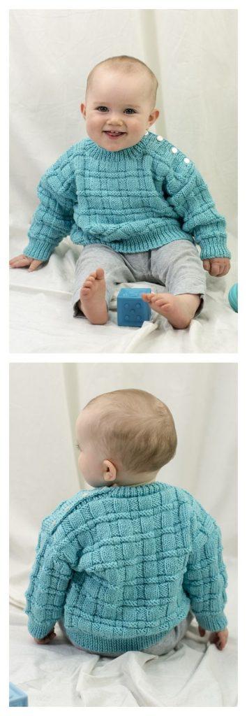Daniel's Pullover Free Knitting Pattern