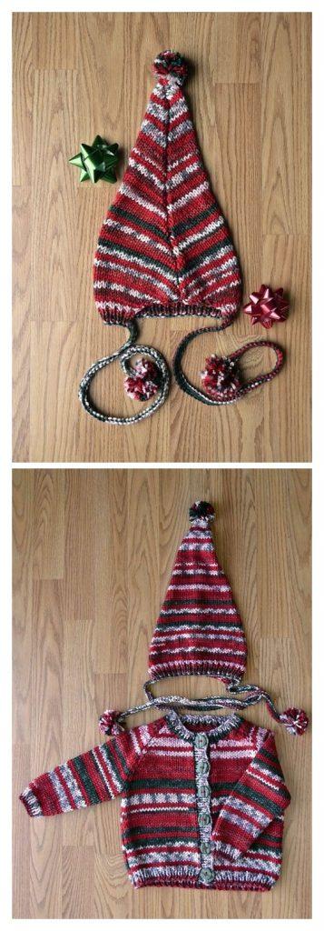 Elfkin Set Free Knitting Pattern
