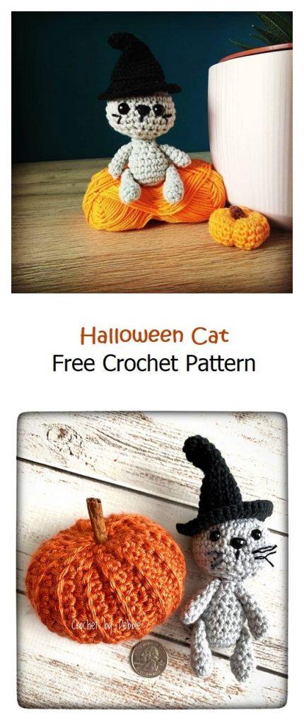 Halloween Cat Free Amigurumi Pattern