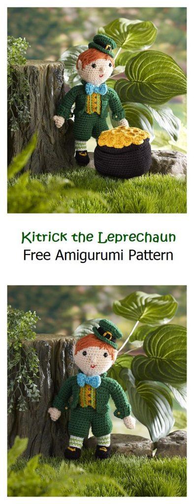 Kitrick the Leprechaun Free Amigurumi Pattern