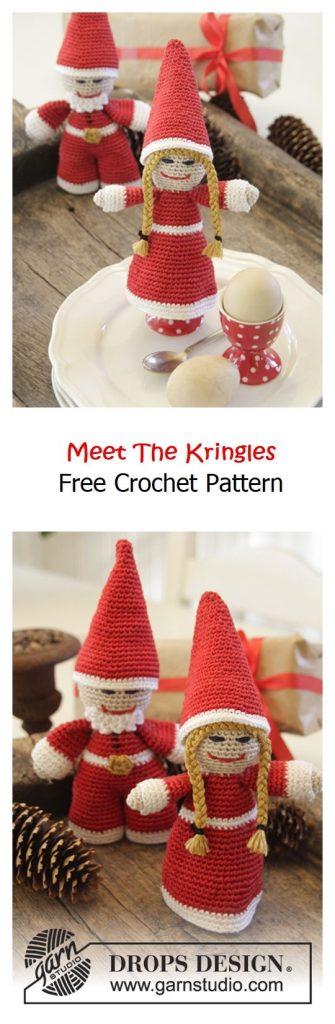 Meet The Kringles Cozy Free Crochet Pattern
