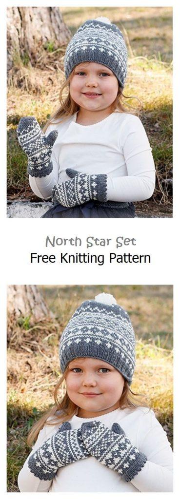 North Star Set Free Knitting Pattern