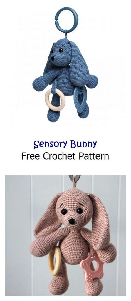 Sensory Bunny Free Crochet Pattern