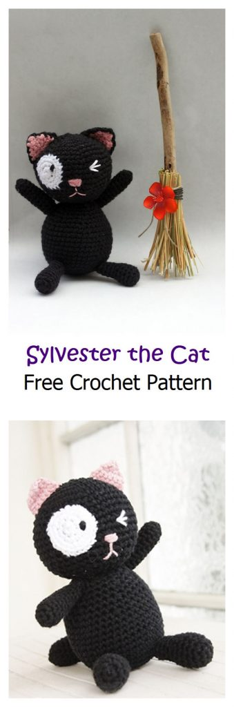 Sylvester the Cat Free Crochet Pattern