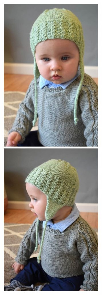 Trailhopper Hat Free Knitting Pattern