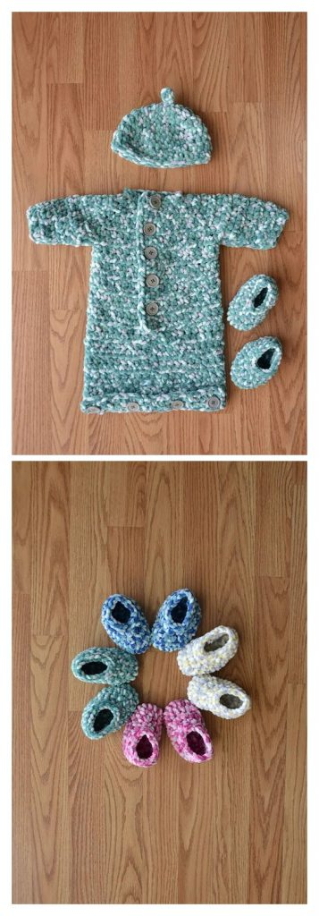 Baby Welcome Set Free Crochet Pattern