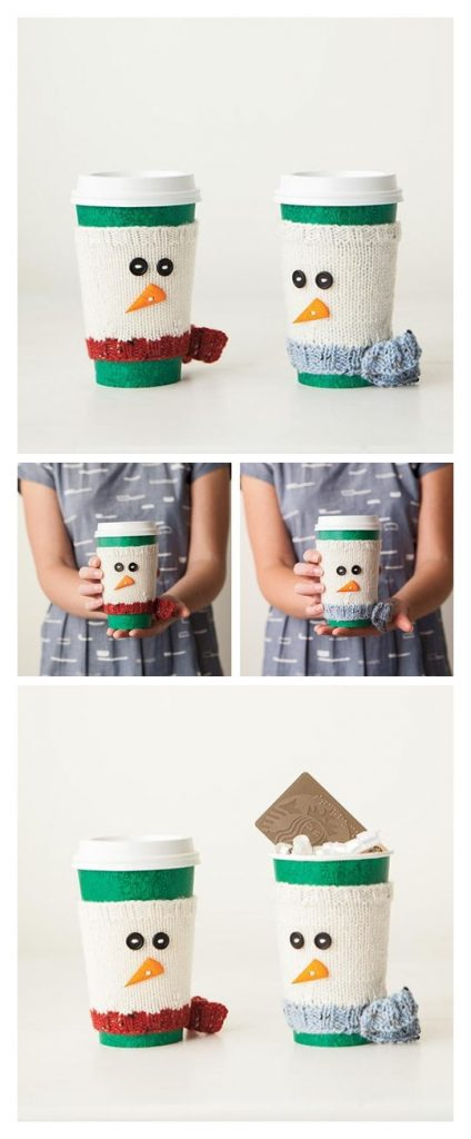 Chill Chaser Cup Cozy Free Knitting Pattern