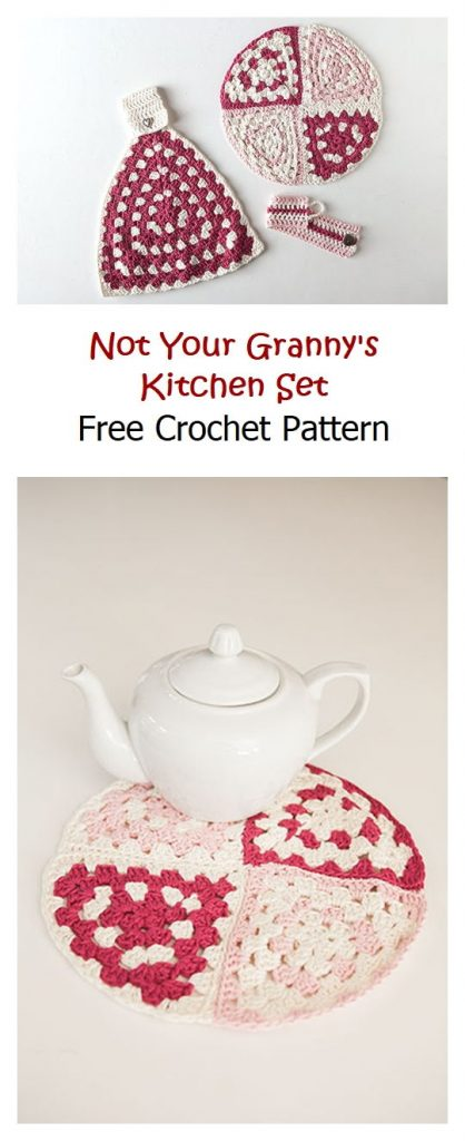 Not Your Granny's Kitchen Set Free Pattern