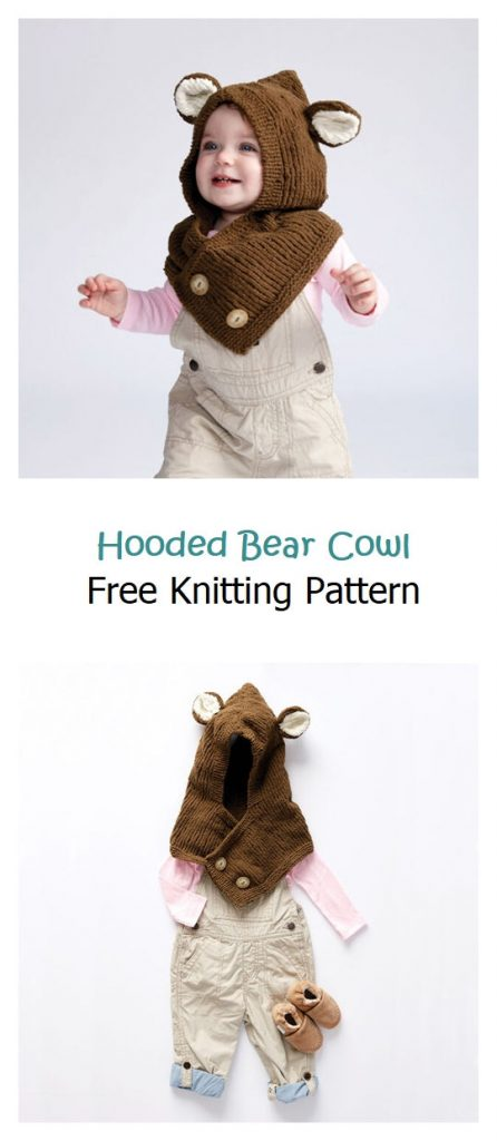 Hooded Cape Free Knitting Pattern