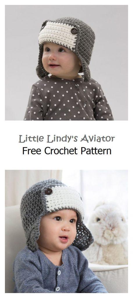 Little Lindy's Aviator Free Crochet Pattern