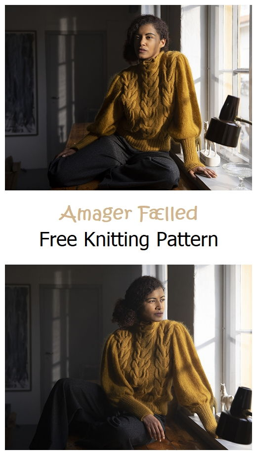 Amager Fælled Free Knitting Pattern