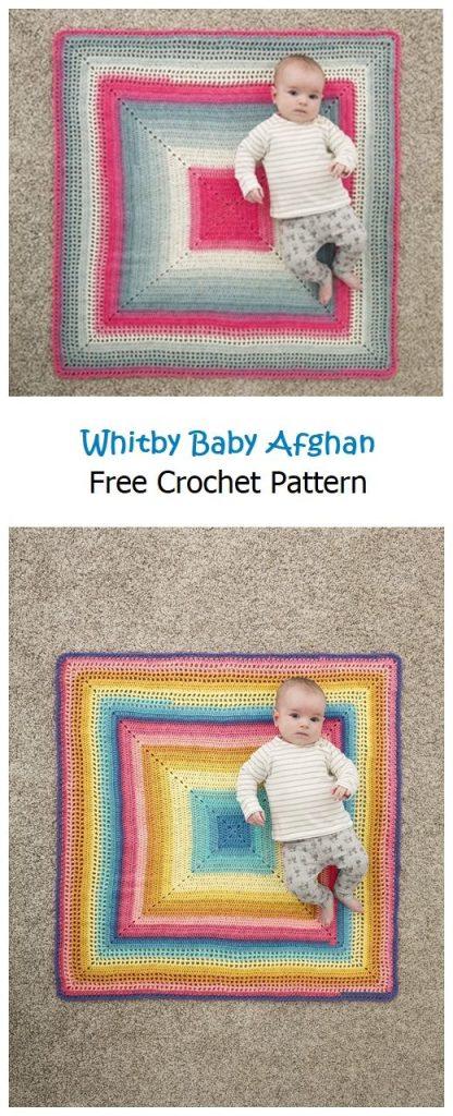 Whitby Baby Blanket Free Crochet Pattern