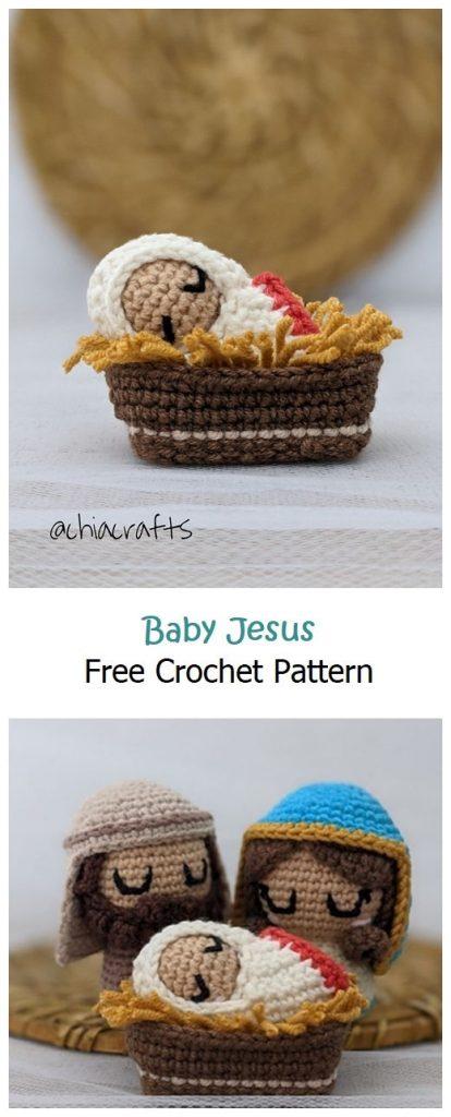 Baby Jesus Free Amigurumi Pattern