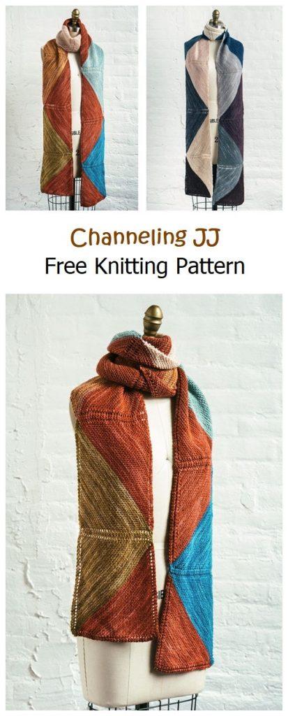 Channeling JJ Free Knitting Pattern