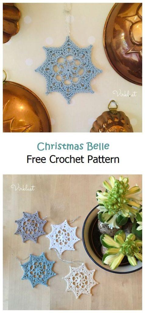 Christmas Belle Free Crochet Pattern