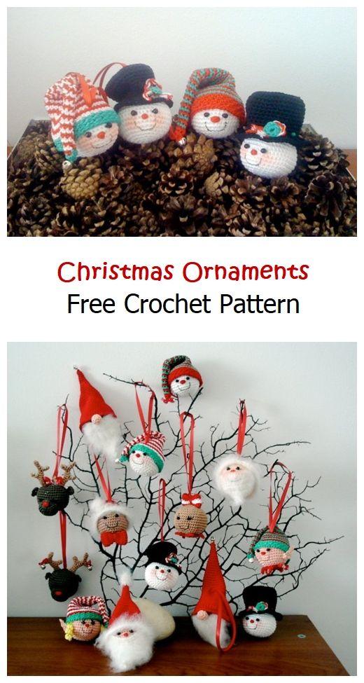 Christmas Ornaments Free Pattern