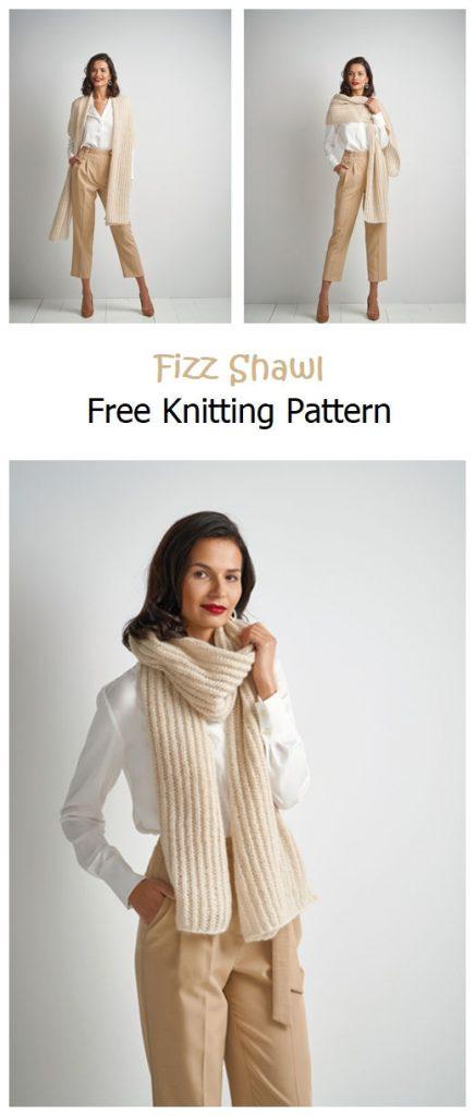 Fizz Shawl Free Knitting Pattern