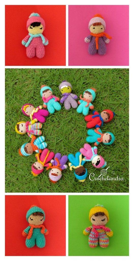 Fofolete Mini Doll Free Crochet Pattern