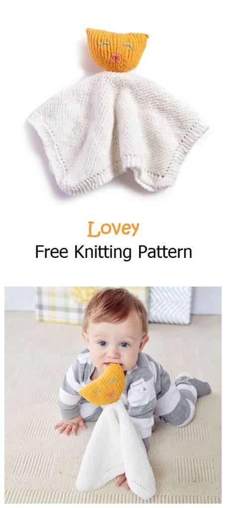 Knit Lovey Free Pattern