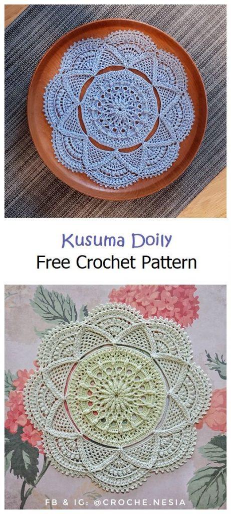 Kusuma Doily Free Crochet Pattern