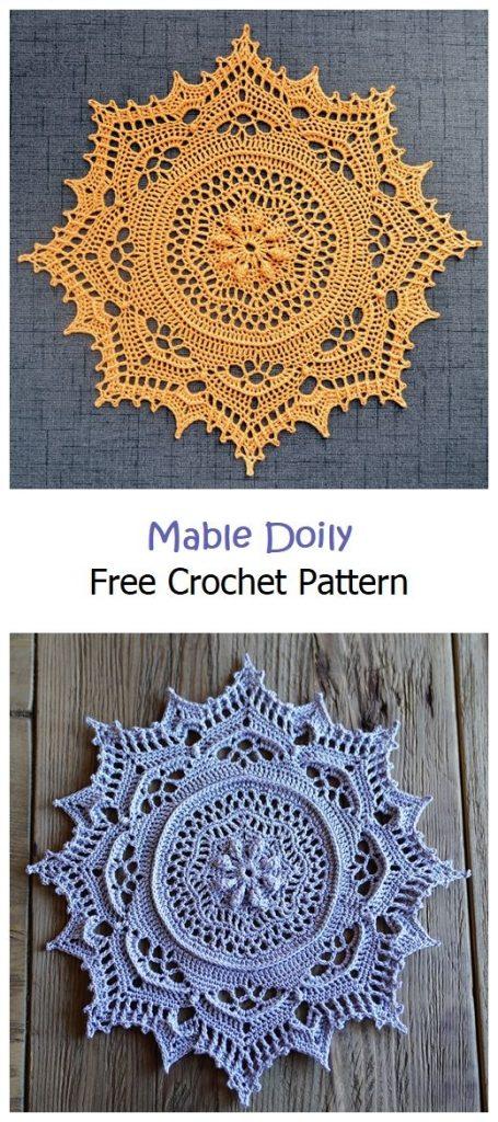 Mable Doily Free Crochet Pattern
