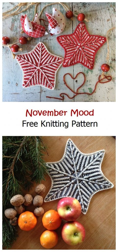 November Mood Free Knitting Pattern