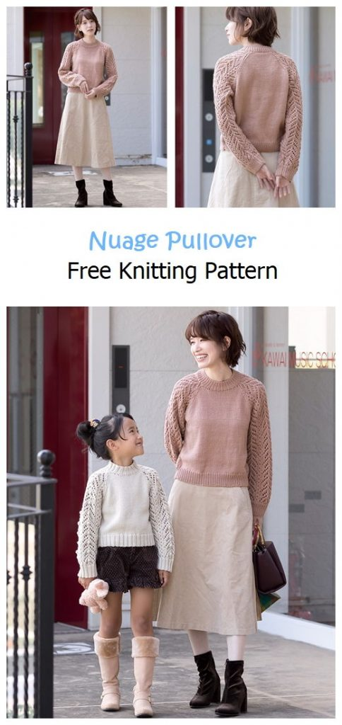 Nuage Pullover Free Knitting Pattern