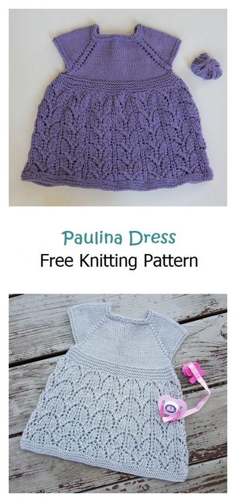 Paulina Dress Free Knitting Pattern