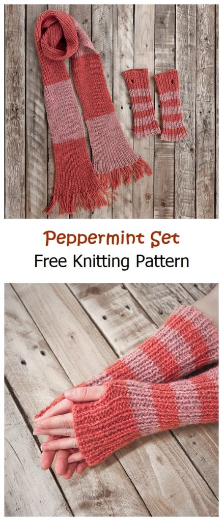 Peppermint Set Free Knitting Pattern