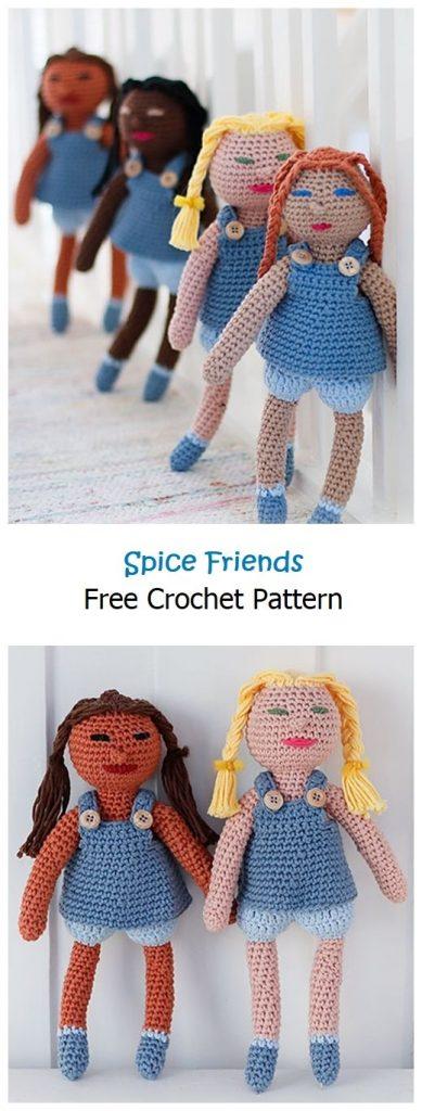 Spice Friends Free Crochet Pattern
