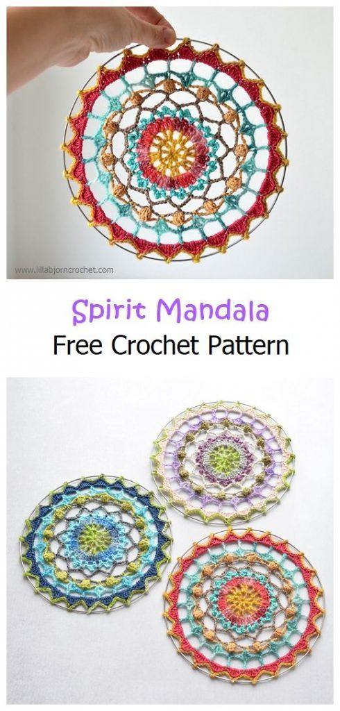 Spirit Mandala Free Crochet Pattern