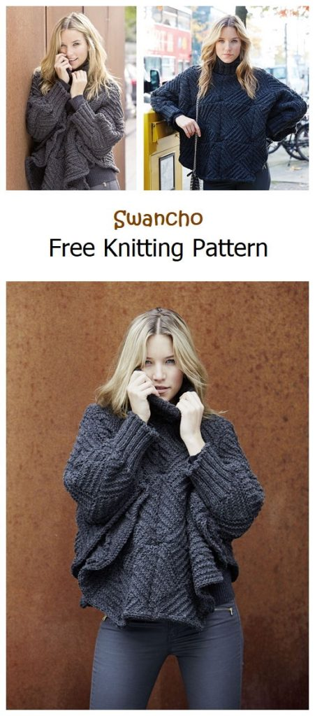 Swancho Free Knitting Pattern