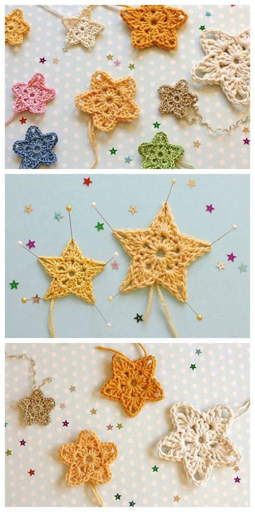 Twinkler Stars Free Crochet Pattern