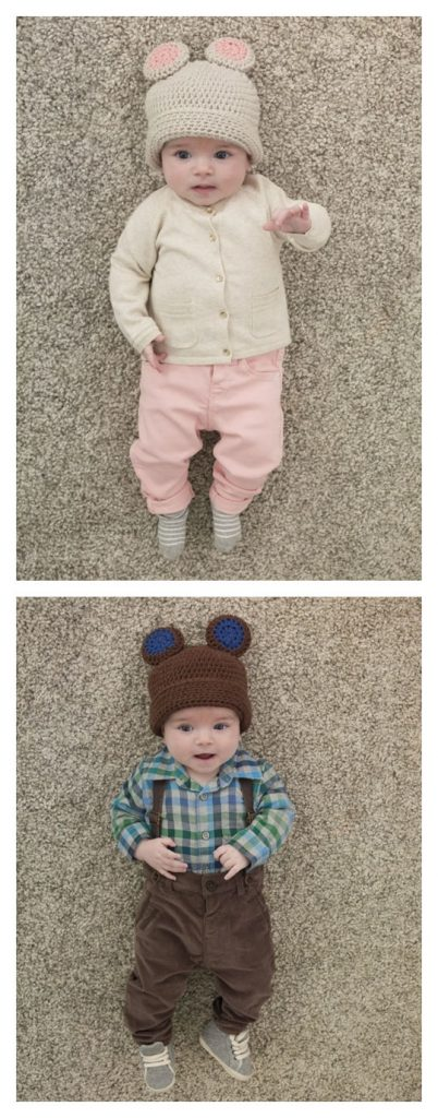 Baby Bear Hat Free Crochet Pattern