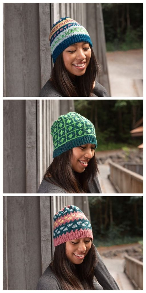 Multiverse Colorwork Hat Free Pattern