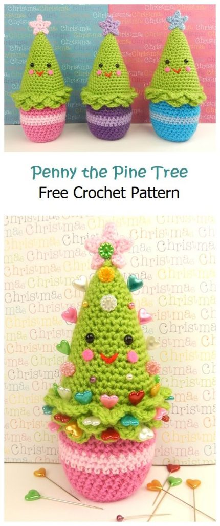 Penny the Pine Tree Free Crochet Pattern