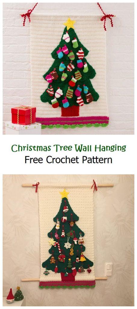 Christmas Tree Wall Hanging Free Pattern