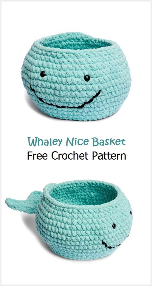 Whaley Nice Basket Free Crochet Pattern