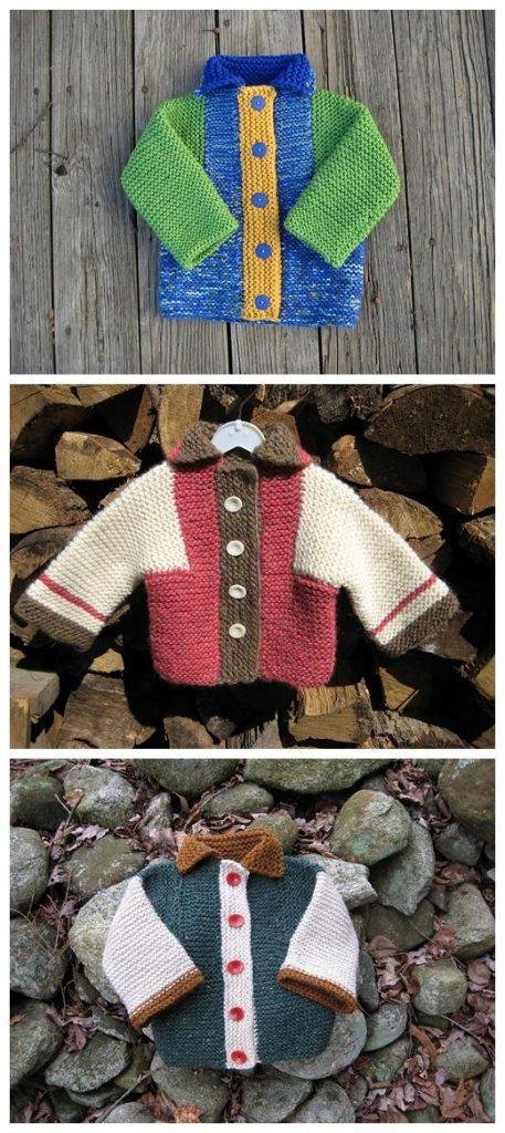 WW Cardigan Coat Free Knitting Pattern