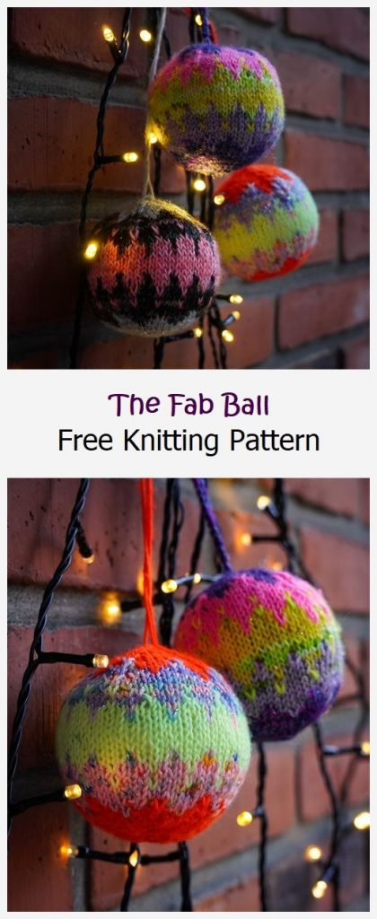 The Fab Ball Free Knitting Pattern