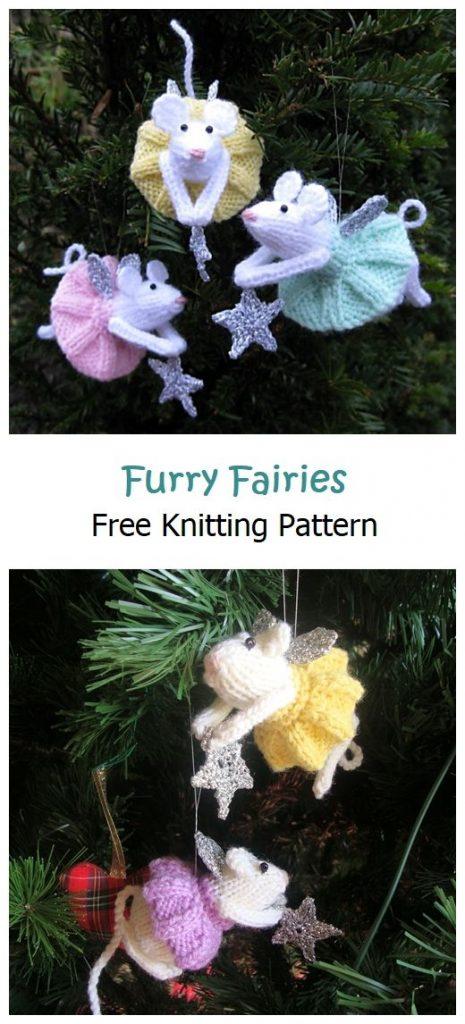 Furry Fairies Ornaments Free Pattern