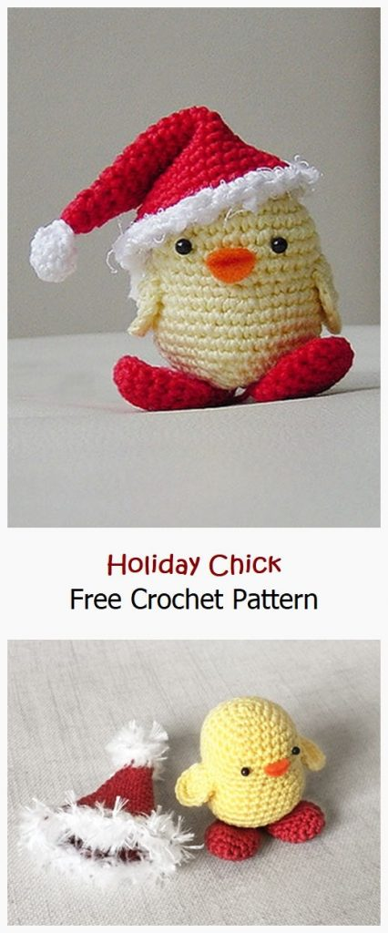Holiday Chick Free Crochet Pattern