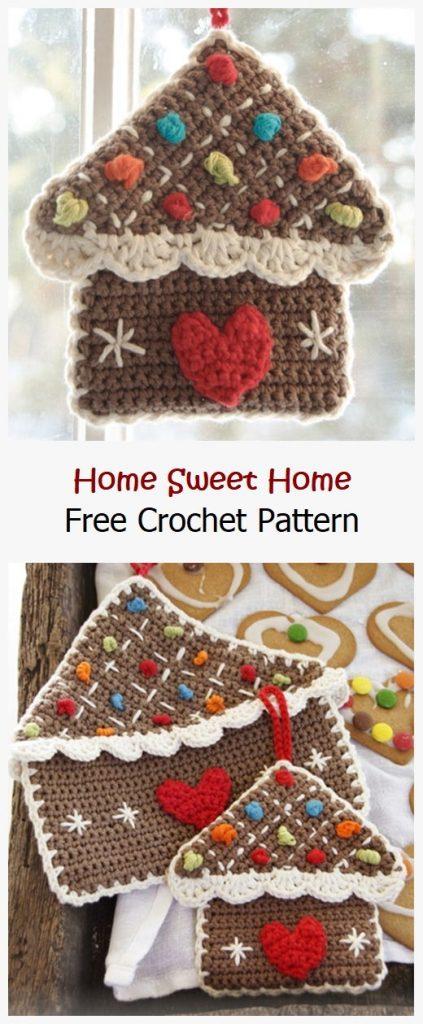 Home Sweet Home Free Crochet Pattern