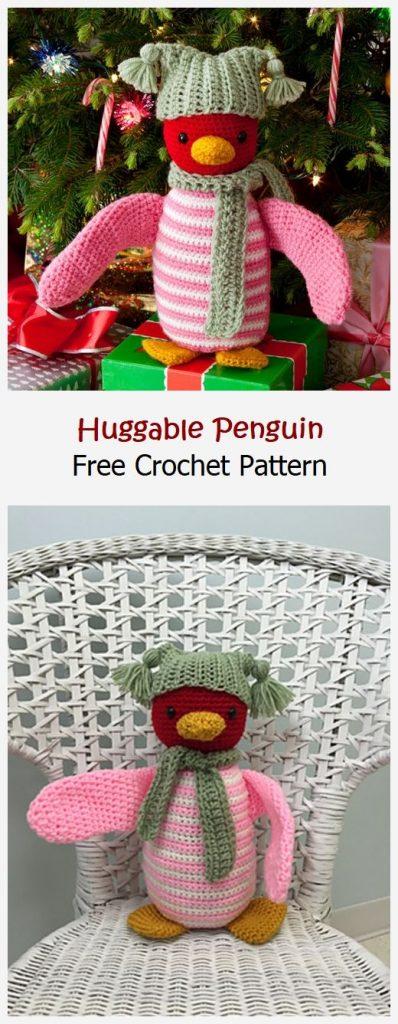 Huggable Penguin Free Crochet Pattern
